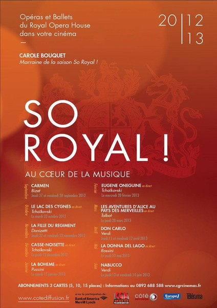 SO ROYAL : SAISON 2012 / 2013