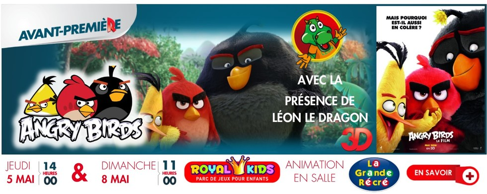 Photo du film Angry Birds en 3D