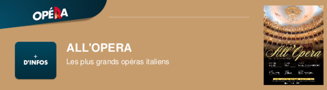 ALL'OPERA Les plus grands opéras italiens