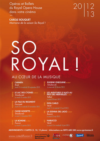 L�op�ra revient en 2012/2013 !! SO ROYAL