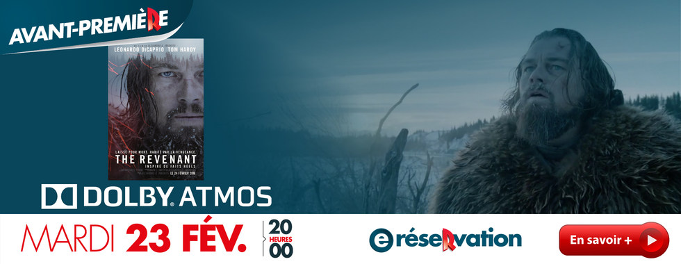 Photo du film THE REVENANT - SON DOLBY ATMOS